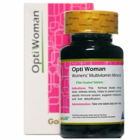 اپتی وومن گلدن لایف 30 عددی_Golden life Opti Woman