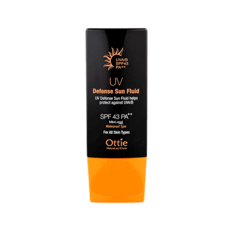 کرم ضد آفتاب ۴۳ اوتی --Ottie UV Defense Sun Fluid SPF 43 PA