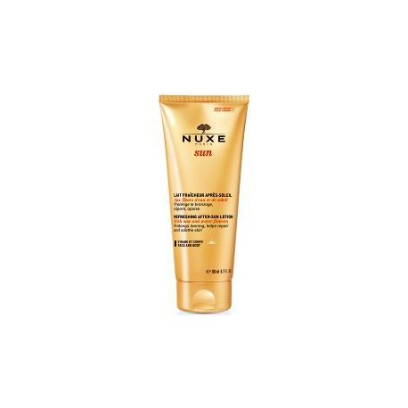 لوسیون افترسان نوکس -- Refreshing After-Sun Lotion nuxe