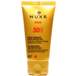 کرم ضد افتاب نوکس spf 50 -- Nuxe Sun Melting Cream high protection Spf 50