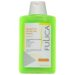 Hair Wite Oily Scalp Dry-Damaged Shampoo Fulica -- شامپو پوست سر چرب فولیکا