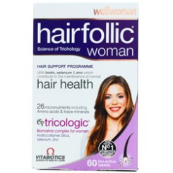 هیرفولیک وومن ویتابیوتکس -- Vitabiotics Hairfollic Woman