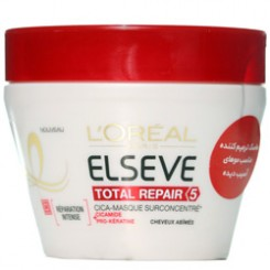 ماسک مو 5 منظوره توتال ریپیر لورال -- Loreal Total Repair Restoring Mask