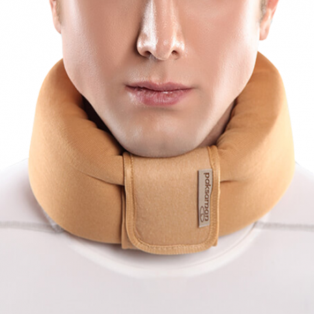 گردن بند طبی نرم پاک سمن --Paksaman Soft Cervical Collar for Expor