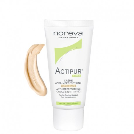 کرم ضد جوش نوروا مدل Actipur حجم 30 میل--Noreva Actipur Anti Imperfections Cream 30ml